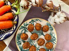 Energy Balls χωρίς ζάχαρη, με καρότο και φυστικοβούτυρο Healthy Food, Healthy Recipes, Energy Balls, Chana Masala, Avocado, Bubbles, Snacks, Ethnic Recipes, Baby