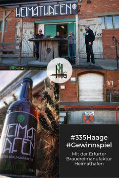 GewinnSpiele #335haage - No 6: Das genialer Erfurter Heimathafen-Bier. Mit Liebe und von kundiger Hand gebraut im Zughafen. Braumeister Jan hat gleich einen ganzen Kasten für unsere GewinnSpiele locker gemacht - und so können wir diesmal drei Gewinner auslosen! #335Haage #Gewinnspiele #Haagelife