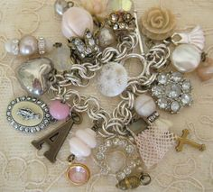 Blush Charm Bracelet by andrea singarella, via Flickr
