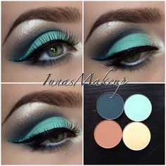 Using Mac Eyeshadows
