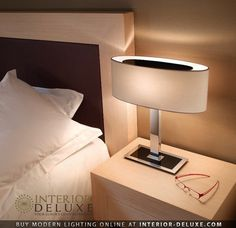 Mei Oval Table Lamp - Bover  Shop Online http://www.interior-deluxe.com/mei-oval-t-table-lamp-p21771.html  #ModernLighting #InteriorDeluxe #Bover