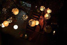 restaurant patio lighting | Image from Lighting Landscape