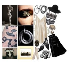 """""""serpent sigils"""" by selini-77 ❤ liked on Polyvore featuring art"""