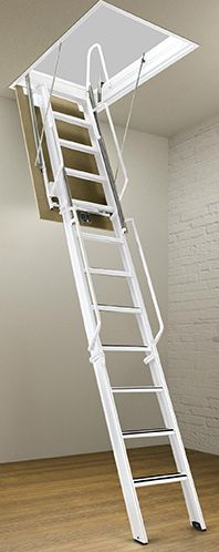 Superbe Rainbow F Series Steel Folding Attic Stairs   To