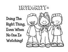 Teaching integrity to children can be a challenge, but it