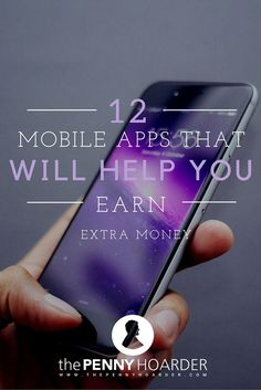 Wouldn't it be awesome if your cell phone paid you? Instead of just getting a bill every month, you'd get a check for using your phone? It's actually not as ridiculous as it sounds. There are actually a number of apps that will pay you to download them. - The Penny Hoarder - http://www.thepennyhoarder.com/12-mobile-apps-that-will-help-you-earn-extra-money/