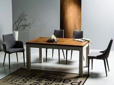 Stół BESKID 90/150, orzech/biały