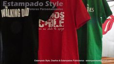 Estampado Style, Diseños & Estampados Publicitarios. Tiene Poleras estampadas con textos, frases, números.y logos. Cotiza tu polera www.facebook.com/EstampadoStyle - Despacho a todo Chile #EstampadoStyle #PolerasEstampadas #Publicidad