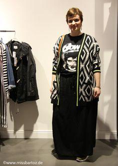 #Streetstyles in Plus Sizes heute: das Promi Print Shirt #plussize #davidbowie