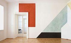 Madewell et Sézane: Sézane designer Morgane's inspiration: Graphic Colorblock Walls #madewellxsezane