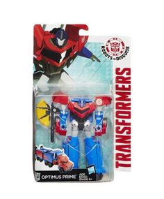 Hasbro Transformers Robots In Disguise Warrior Wave 2 Optimus Prime Toy B0911 #Hasbro