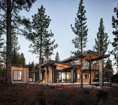 Healthy Living and Seclusion Provided by Martis-Dunsmuir House in California - http://freshome.com/healthy-living-seclusion-provided-by-martis-dunsmuir-house-california/