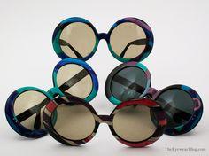 Vintage Emilio Pucci sunglasses, circa 1966.