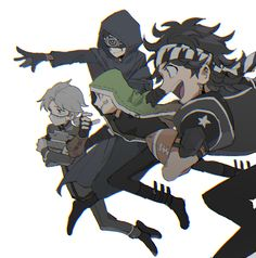Pretty Art, Cute Art, Anime Friendship, Identity Art, Art Forms, Art Images, Cool Drawings, Anime Art, Horror