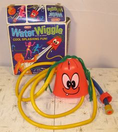 Water Wiggle, dangerous summer toy of the 70's.    Google Image Result for http://img0.etsystatic.com/il_fullxfull.304501304.jpg