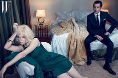 Clive Owen & Nicole Kidman for W