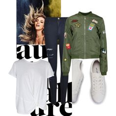 Autumn rock by simplej on Polyvore featuring MINKPINK, Boohoo and Frame Denim