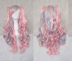 Magic-City-Lolita-Mix-and-match-Blue-pink-cosplay-wig