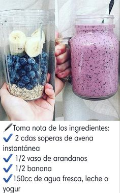 Hottest Free Smoothies to lose weight! 🍓🍊🍌🍎 Suggestions Whether steamy breakfast Consume or fruity refreshment in between – Smoothies only always go. Healthy Menu, Healthy Meal Prep, Healthy Breakfast Recipes, Healthy Drinks, Healthy Recipes, Healthy Snaks, Yummy Smoothies, Fruit Smoothie Recipes, Thing 1