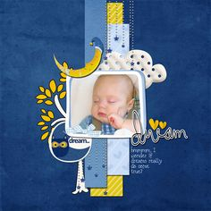 Baby page by Barb Brookbank