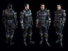 Mass Effect 3 Characters | Kaidan Armor - Characters & Art - Mass Effect 3