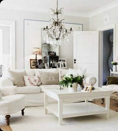 glamorous cottage chic living room ideas | 1000+ images about Rustic glam home decor on Pinterest ...