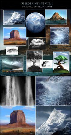 Cg Artist, Digital Art Tutorial, 3d Rendering, Zbrush, Art Tutorials, Maya, 3 D, Environment, Photoshop