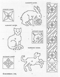 Keepers of Athena's Thimble - pattern page