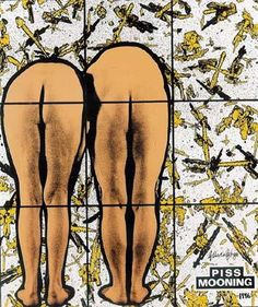 Gilbert & George - Find on ArtDiscover all the information about Gilbert & George: artist bio, artworks, exhibitions, collections and more. Gilbert & George, Le Double, Korean Art, Land Art, North Africa, Light Art, Lovers Art, Fashion Photo, New Art