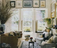 michael bastian west village apartment living room