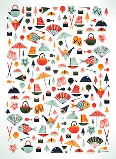 Tokyo pattern | Flickr - Photo Sharing!