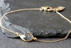 Black Diamond Slice Bracelet