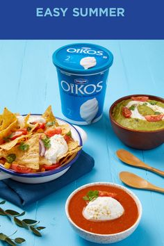 Swap sour cream or mayo and enjoy all the richness and creaminess of OIKOS Greek yogurt in your favourite summer recipes! Greek Yogurt Recipes, Healthy Yogurt, Food Swap, Cooking Recipes, Healthy Recipes, Fries In The Oven, Mets, Mediterranean Recipes, Summer Recipes