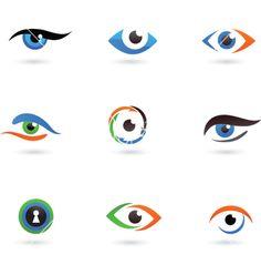 32 ideas for eye logo vector Logo Design Inspiration, Icon Design, Green Aesthetic Tumblr, Glasses Logo, Glasses Shop, Optic Logo, Eyes Artwork, Visiting Card Design, Eye Logo