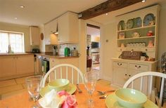 2 Bedroom Home in Cirencester to rent from pw. With balcony/terrace, Log fire, TV and DVD. Log Fires, Terrace, Bedroom, Balcony, Table, Furniture, Tv, Home Decor, Farmhouse