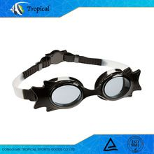 New coming custom cheapest silicone swimming goggles for kids