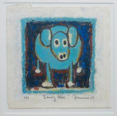 Hans Innemee: Litho, Being blue