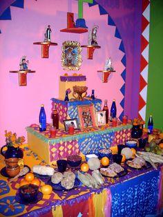 #diadelosmuertos #dayofthedead dead altar