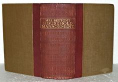 Hardback book with Illustrations. Management Books, Old Books, Household, Illustrations, Learning, Ebay, Antique Books, Illustration, Studying