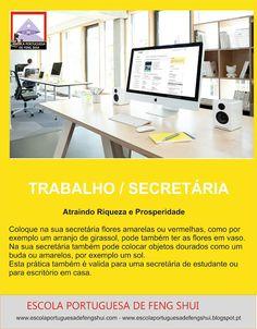 Escola Portuguesa de Feng Shui: TRABALHO / SECRETÁRIA