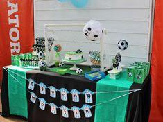 Violeta Glace 's Birthday / Football - Photo Gallery at Catch My Party Football Birthday, Football Photos, Soccer Party, Birthday Parties, Birthday Cakes, Desserts, Kids, Party Ideas, Girl Football