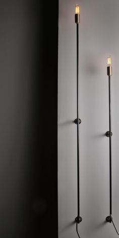 Skinny-Sconce- John Beck Steel- Industrial Lighting