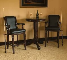 Bar table and chairs for our pool room| Bar Stools & Pub Tables Phoenix, AZ | Billiard Gallery