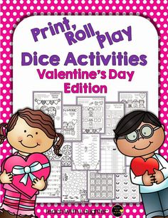 valentine's day dice game