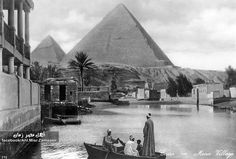 indypendenthistory:  The Pyramids of Giza 1908