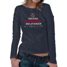 Seal Team 6 Signed SEALED Delivered T-Shirt