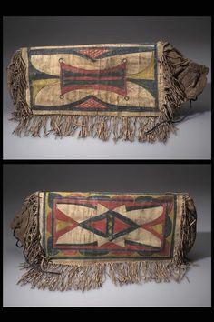 Sioux parfleche bag, AMNH  ac