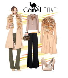 """Wear a Camel Coat!"" by rmhodgdon ❤ liked on Polyvore featuring Alice + Olivia and camelcoat"