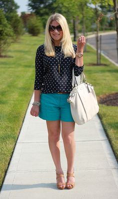 Mix & Match Fashion : #teal #anchors