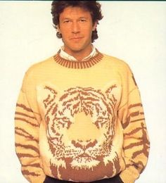Imran khan in Tiger's Outfit